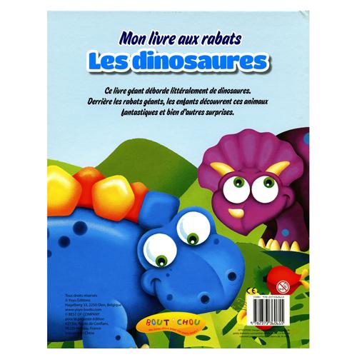 Mon Livre A Rabats Les Dinosaures Bout Chou